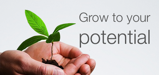Grow to your potential the key to your success journey