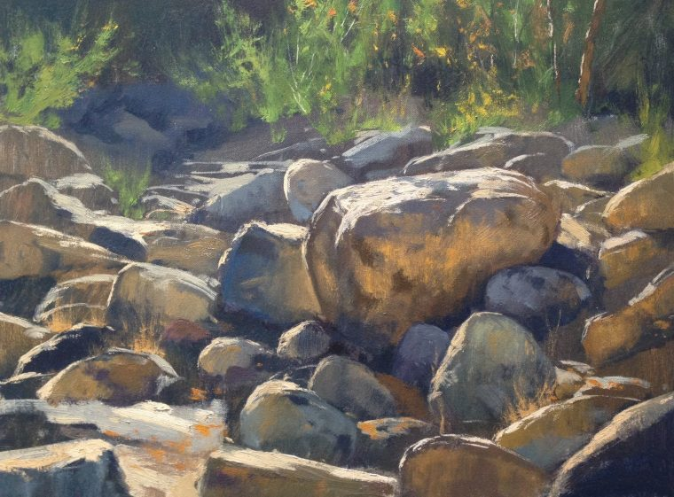 How To Paint Boulders With Acrylics