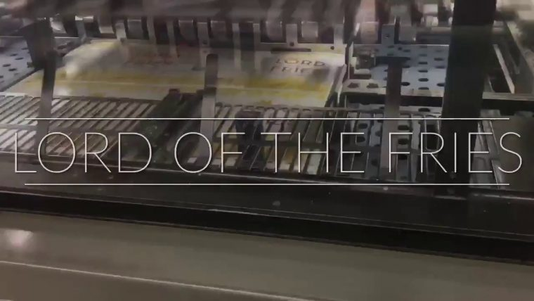 """""""Lord Of The Fries"""" – In The Making"""